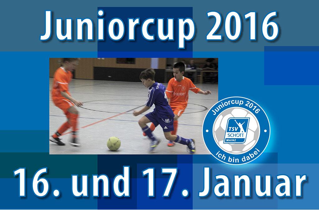 Einladung zum Juniorcup 2016
