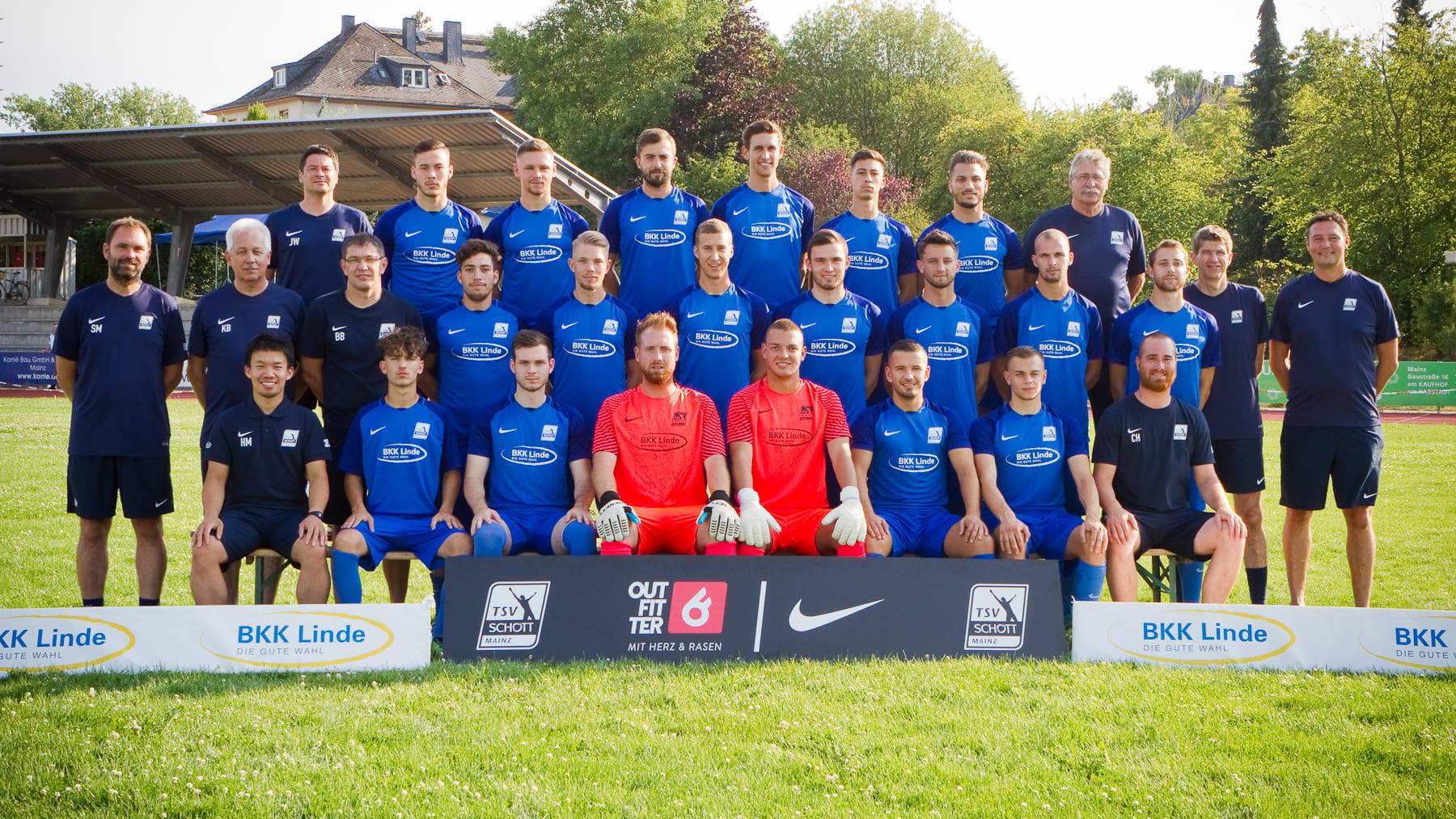 1. Herrenmannschaft TSV SCHOTT Mainz