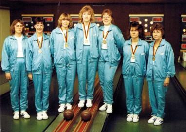 Damen: Deutscher Mannschaftsmeister 1987